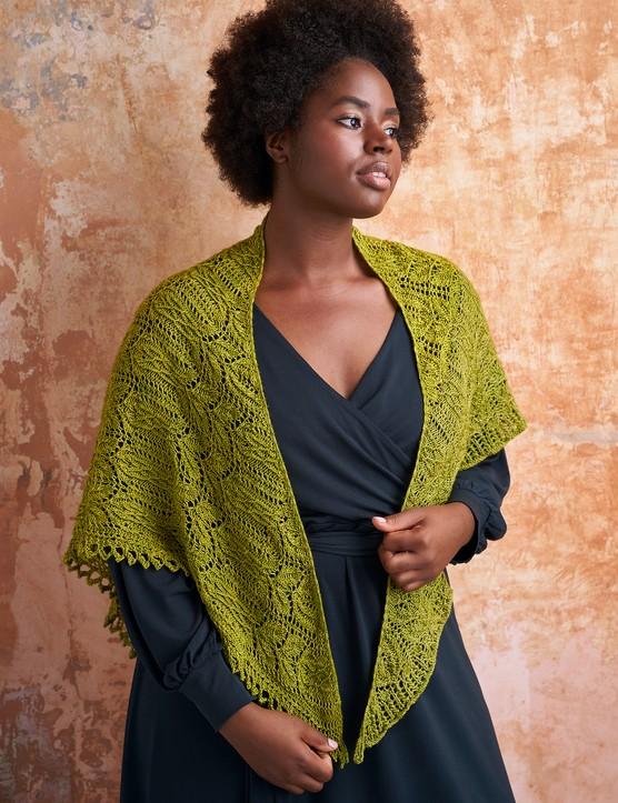 The Knitter 144 Ard Daraich shawl