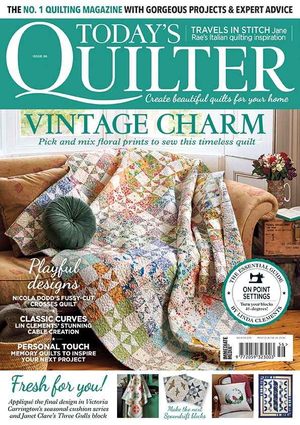 Today's Quilter magazine issue 56
