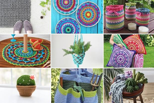 Top 15 FREE Summer Garden Party Crochet Patterns