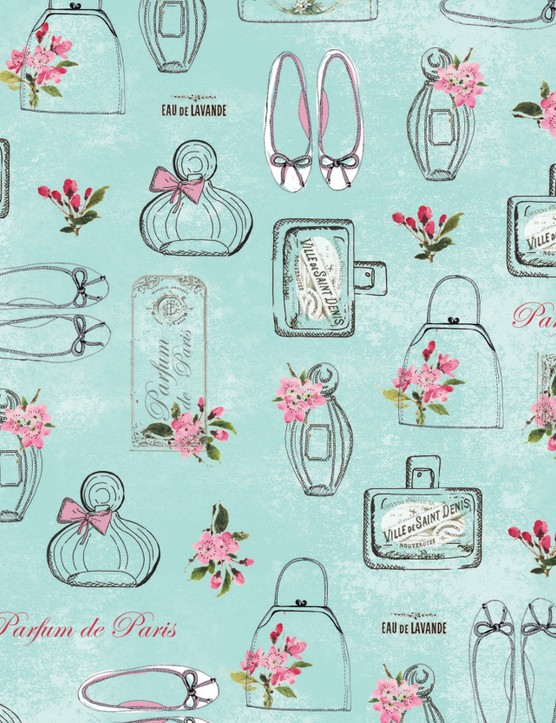 Vintage couture patterned papers_01