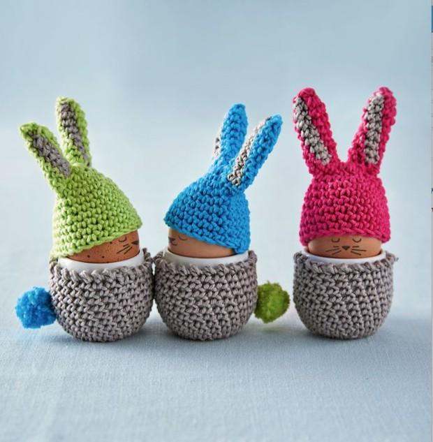 Amigurumi Easter Bunny Free Knitting Patterns - Knitting Pattern | 633x620