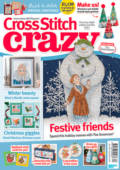Cross Stitch Crazy issue 262