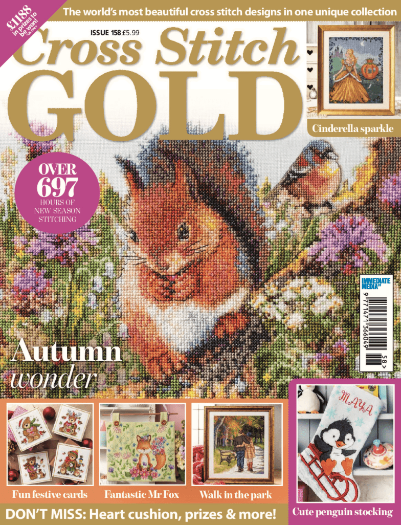 Cross Stitch Gold issue 158