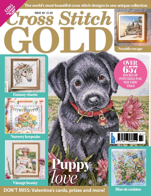 Cross Stitch Gold issue 161