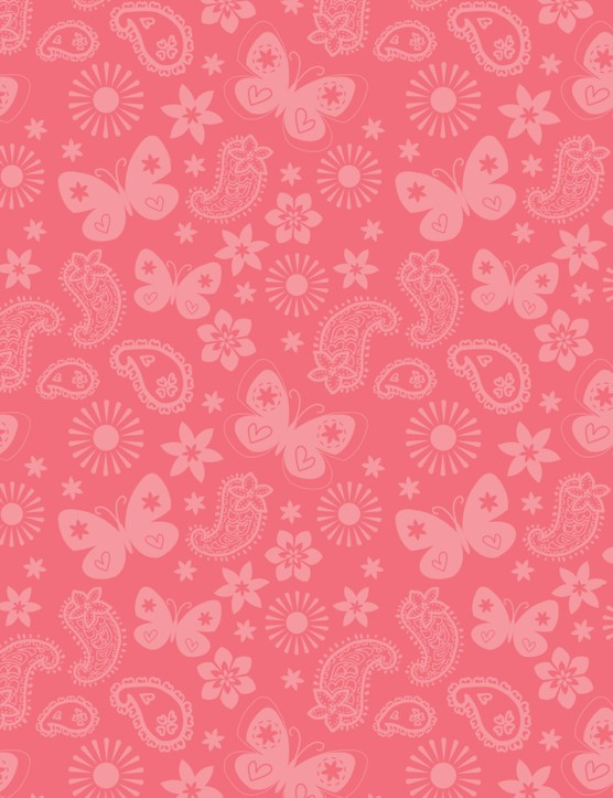 Free Butterflies and Blooms patterned papers 04
