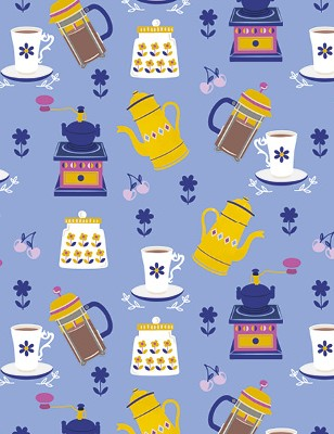 Free Cafe Chic patterned papers_06