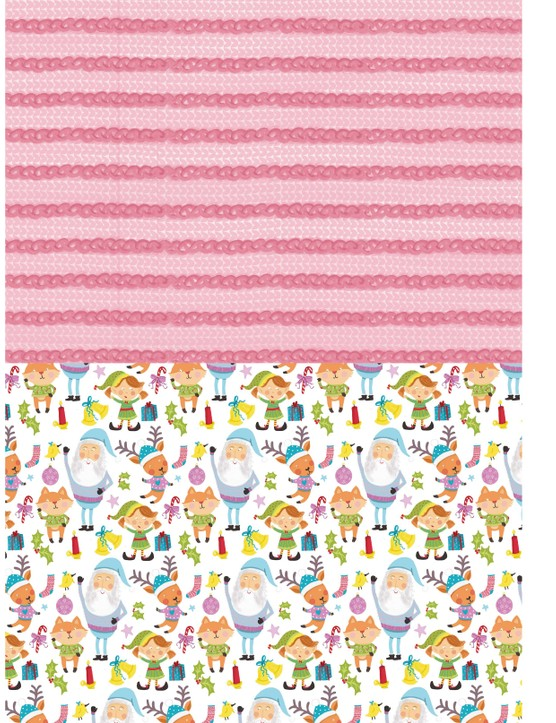 Free Christmas jumper patterned papers 4