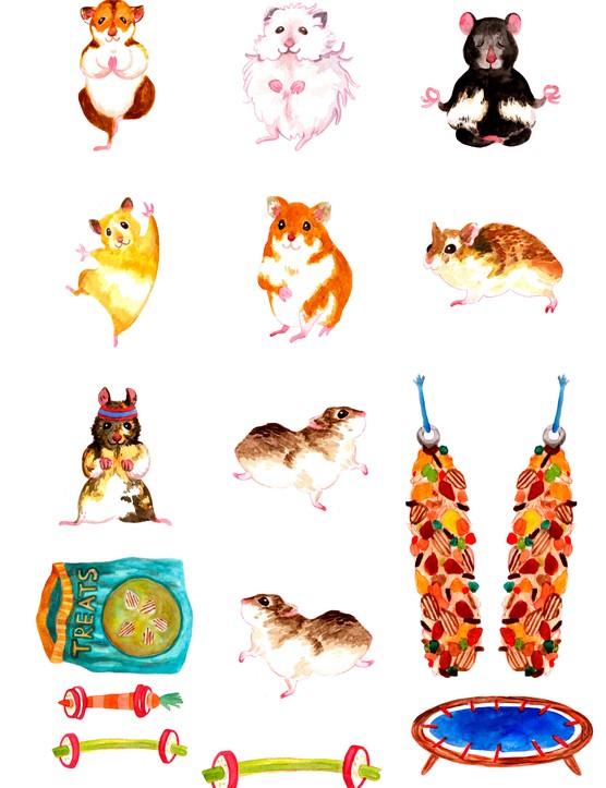 Free motivational hamster printables 10