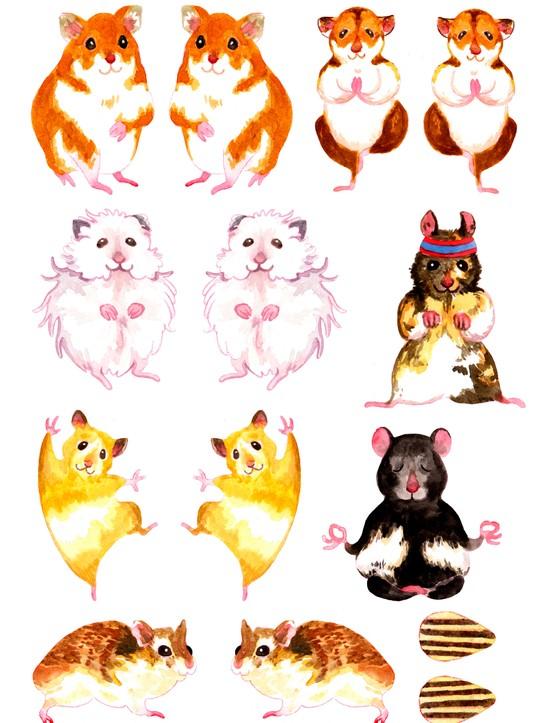Free motivational hamster printables 11