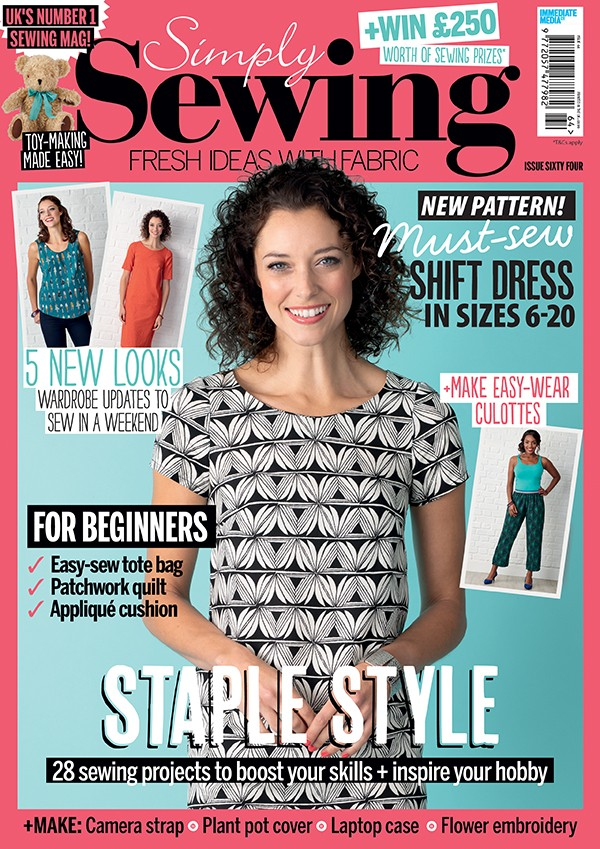 Simply sewing magazine issue 64