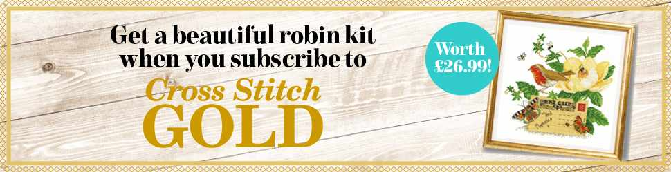 Subscribe to Cross Stitch Gold magazine
