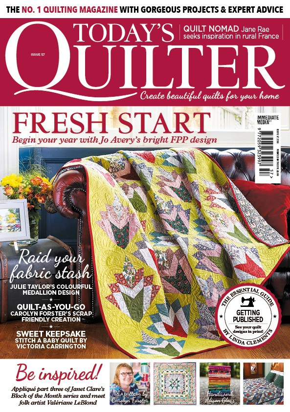 Today's Quilter magazine issue 57