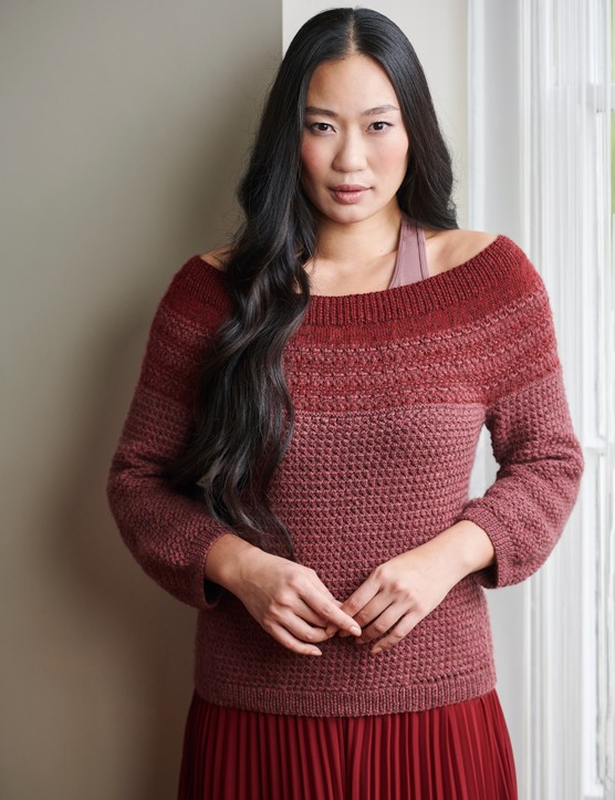 The Knitter 145 Haresfield jumper