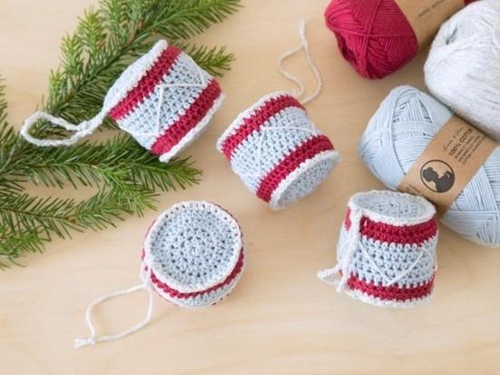 Your Crochet Christmas 2020 60 free Crochet Christmas Ornaments: Free Patterns UK   Gathered