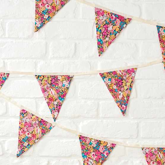 How to make bunting - free bunting template