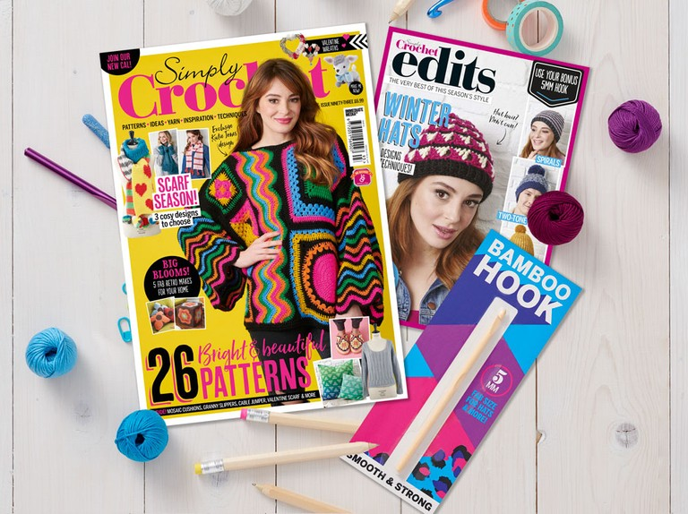Simply Crochet issue 93 on sale now!