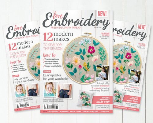 Subscribe to Love Embroidery Magazine