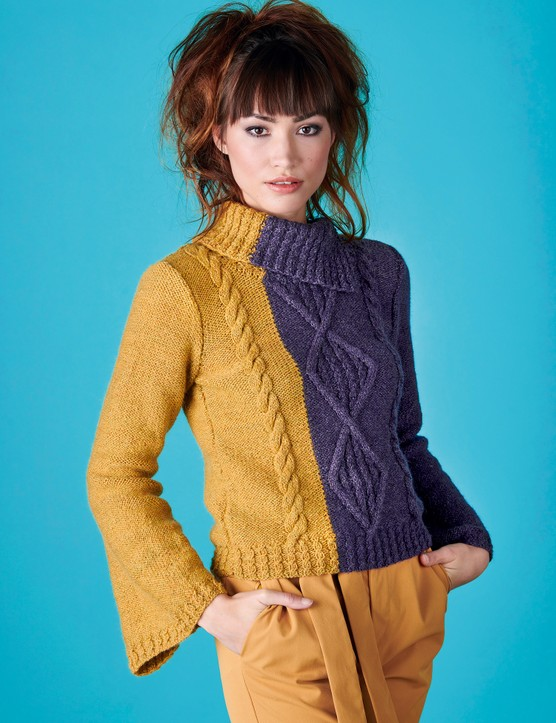 The Knitter 147 Neva jumper