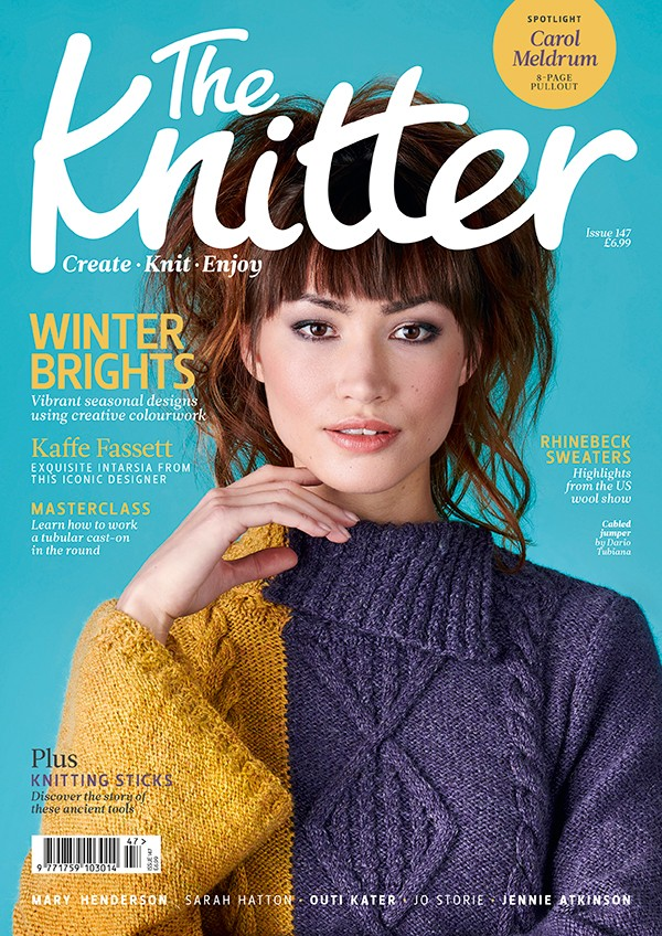 The Knitter issue 147 cover