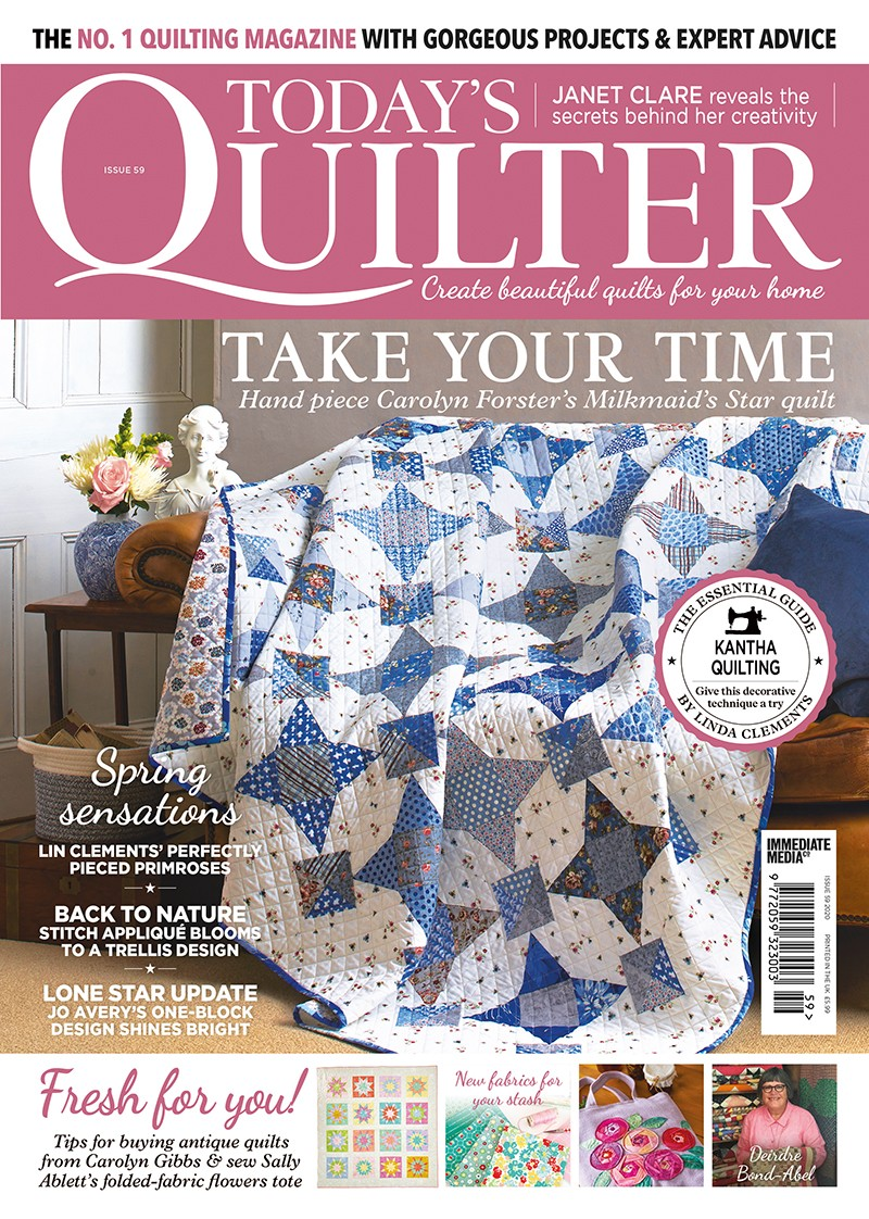 Today's Quilter magazine issue 59