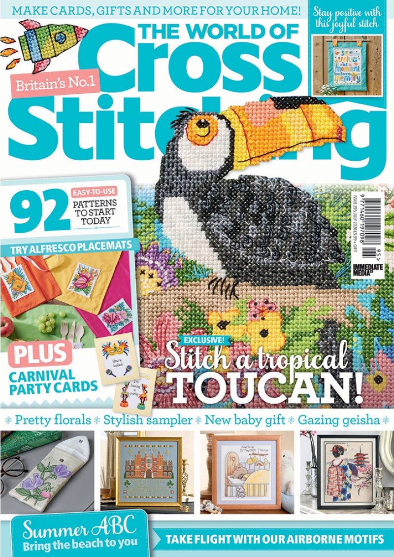 The World of Cross Stitching issue 295 (July 2020)