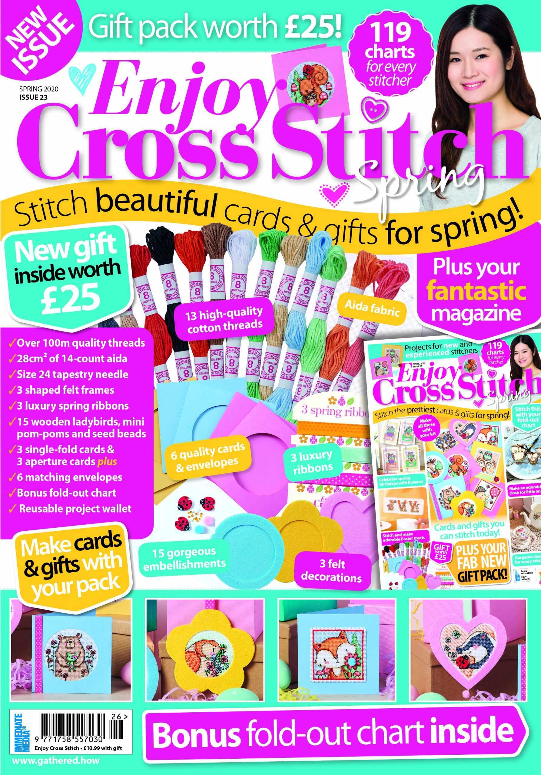 Enjoy cross stitch magazine
