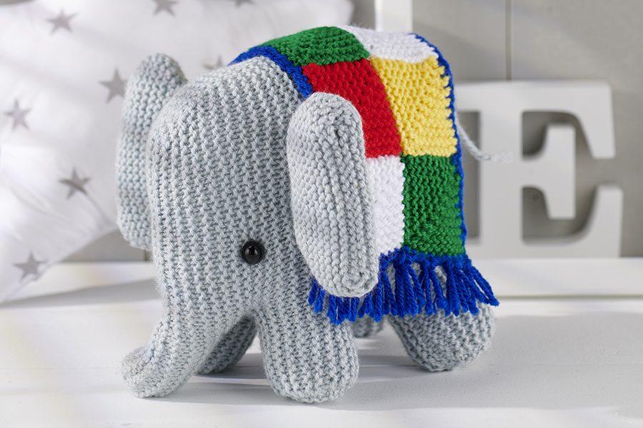 Free elephant knitting pattern