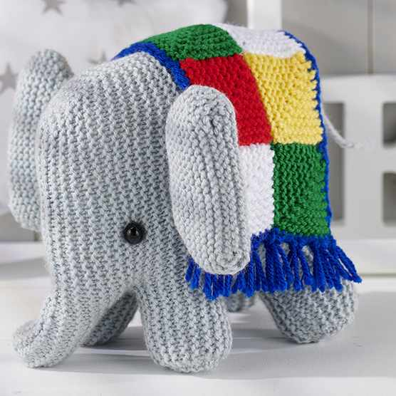 Free elephant knitting pattern