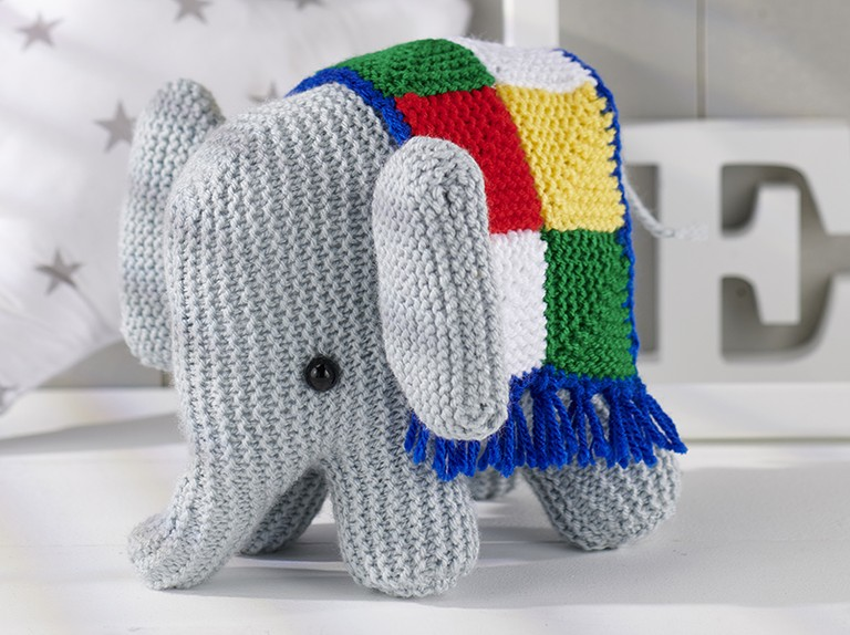 Esther the Elephant Free Amigurumi Pattern | Jess Huff | 574x768