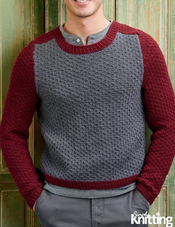 Simply Knitting 200 Men's Jumper