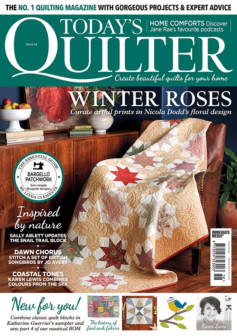 Todays Quilter magazine issue 58 cover