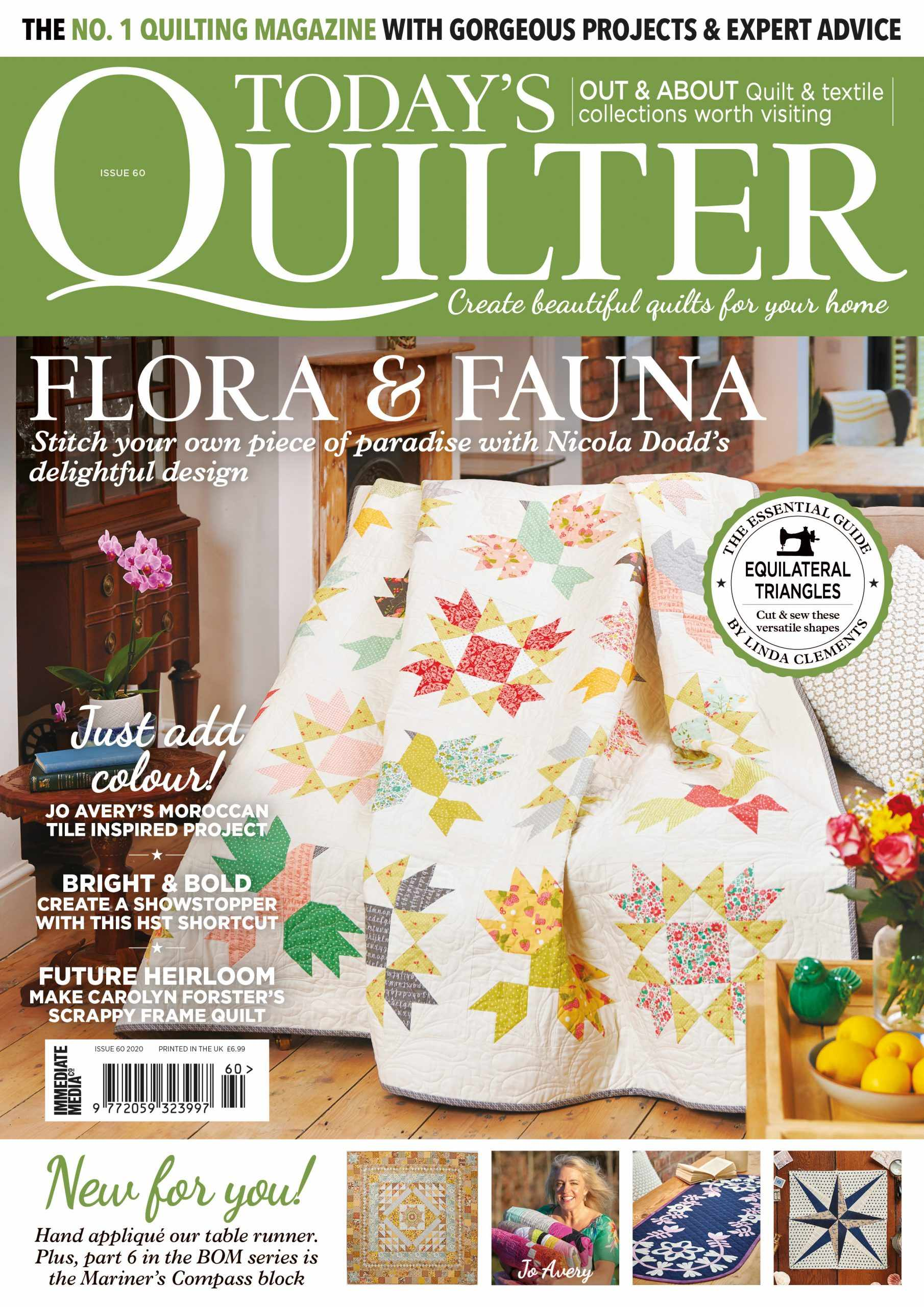 Today's Quilter magazine issue 60