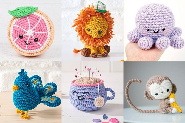 PDF Pattern Tiny Lion plush, cute lion crochet pattern, amigurumi ... | 413x620