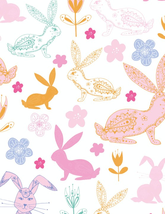 Free sketchy Happy Easter patterned papers_07