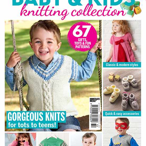 Baby knitting patterns magazine