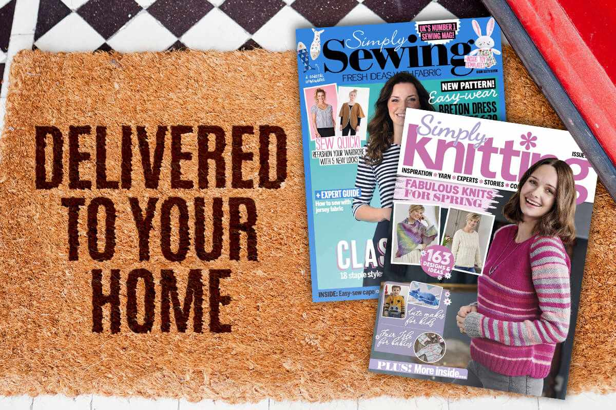 Craft magazine subscription!