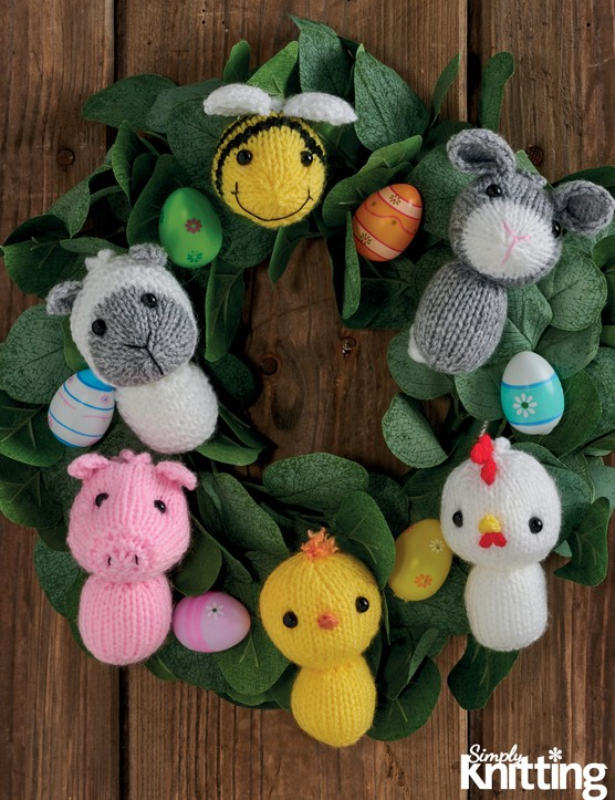 Simply Knitting 197 Easter decorations