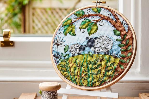 52 spring cross stitch patterns