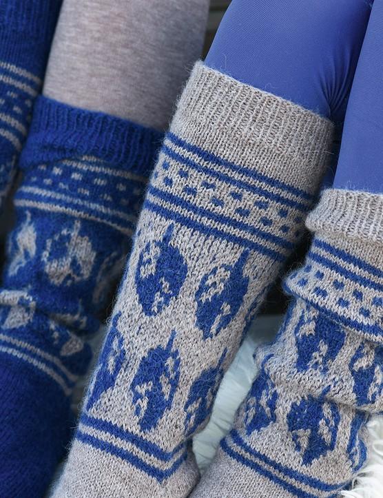 The Knitter 157 Claudia Wersing socks