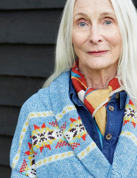 The Knitter 157 Debbie Bliss cardigan