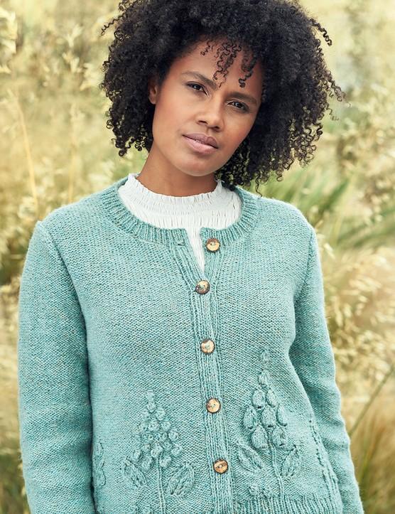 The Knitter 157 Jennie Atkinson cardigan