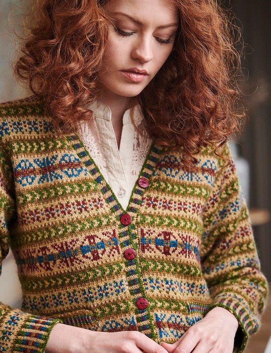The Knitter 161 cardigan Mary Henderson