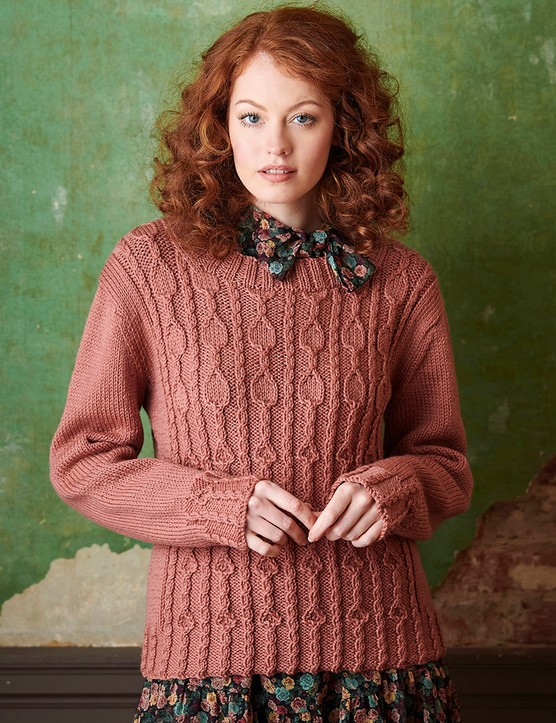 The Knitter 161 jumper Emma Vining