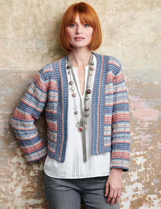The Knitter 163 cropped jacket