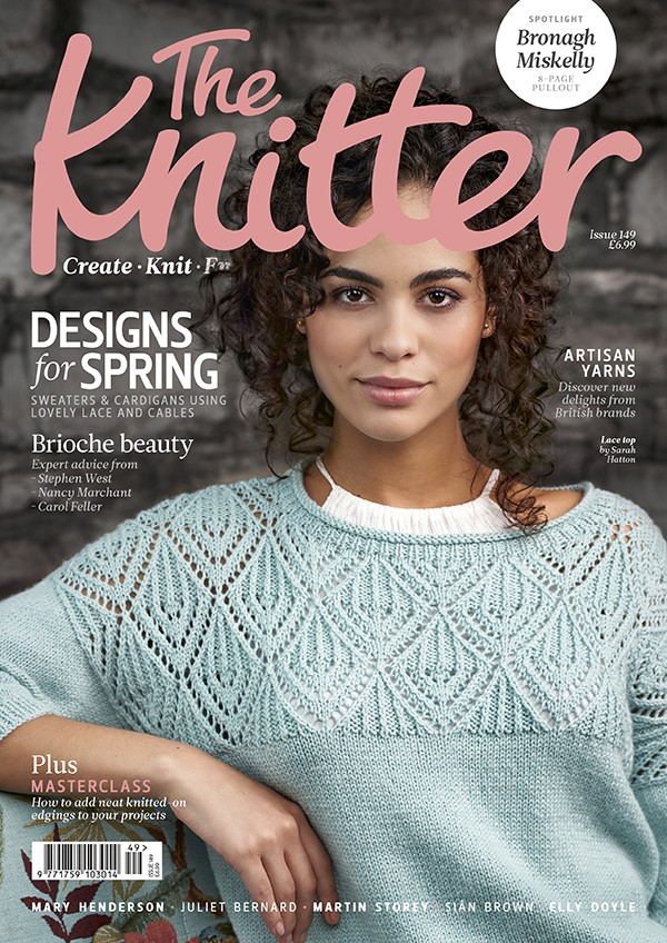 The Knitter issue 149 cover