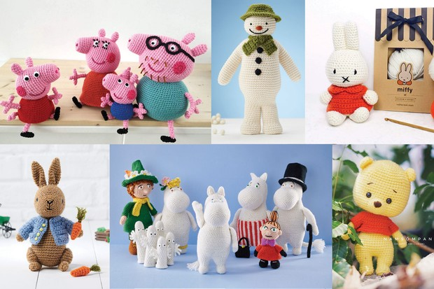Peppa Pig and Family - Written Crochet Patterns (Unofficial ... | 413x620