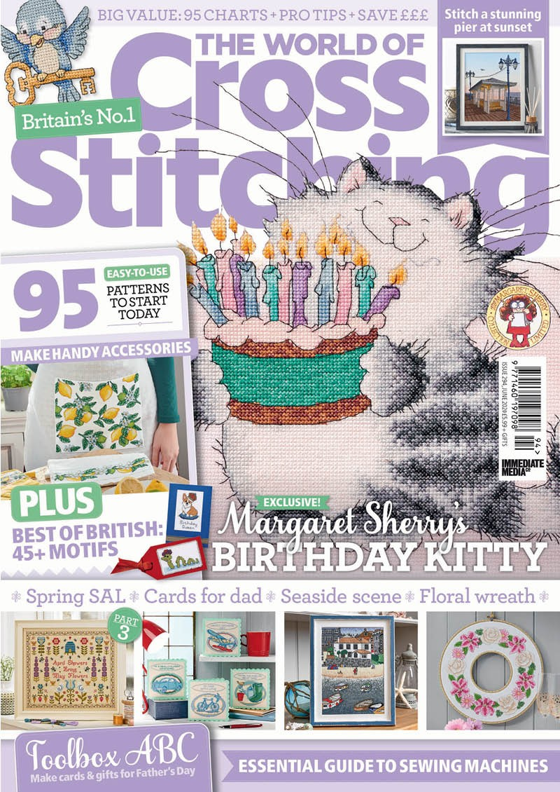 The World of Cross Stitching issue 294 (June 2020)