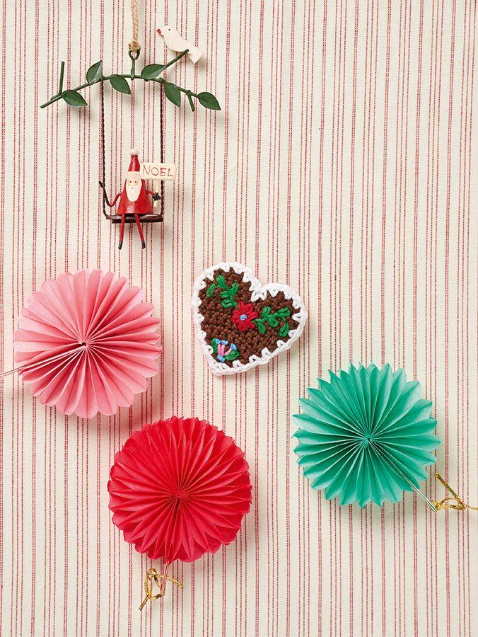 Crochet Christmas heart tutorial