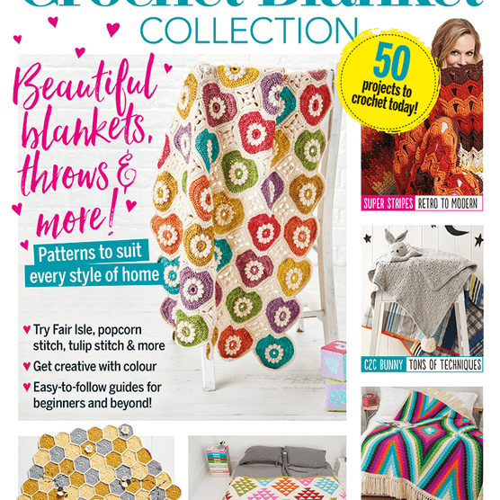Ultimate crochet blanket collection