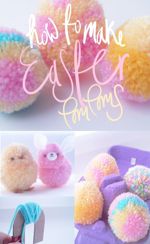 Easter pom pom crafts